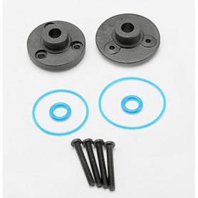 Traxxas 7080 Täckbrickor, differential, fram och bak, med tätningar, o-ringar, skruvar