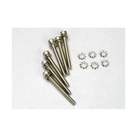 Traxxas 3963 Skuv, insex, socket-head, M3x28mm, 6 st. Med bricka och låsbricka