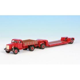 NZG 62901 Scania L60 med nooteboom trailer ADU32VV