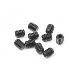 XRay 901405 Stoppskruv, M4x5mm, 10 st, svart