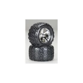 Traxxas 5674 Däck Maxx 6.3 yttre diameter, Geode fälgar, med foam inserts, 2 st