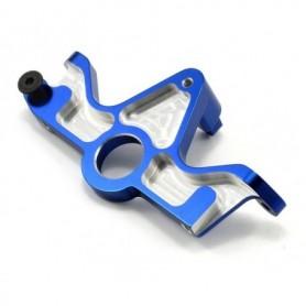 Traxxas 6860R Motorplatta fäste TQi förberedd, blå anodizerad aluminium, för Slash 4x4, 1 st
