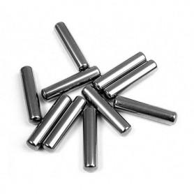 Hudy 106050 Drivaxelpinnar, 3x14mm, 10 st