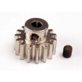 Traxxas 3945 Pinion, 15T, 32-pitch, 1 st med skruv