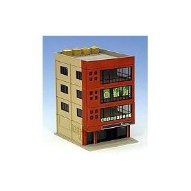 Kato 234311 Höghus, kontor Metro, 4-vånings, röd