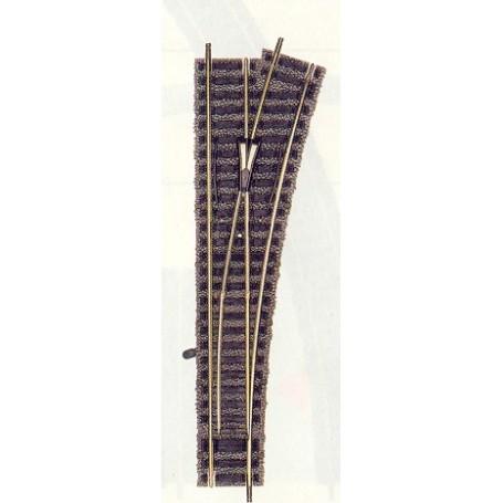 Fleischmann 6171 Växel, standard, höger, manuell, längd 200 mm