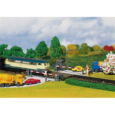 Faller 222173 Bevakad järnvägsövergång
