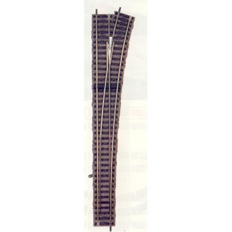 "Fleischmann 6179 Växel, lång ""Express"", höger, manuell, längd 300 mm"