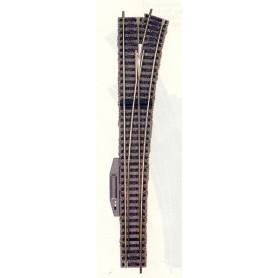 """Fleischmann 6181 Växel, lång """"Express"""", höger, elektrisk, längd 300 mm"""