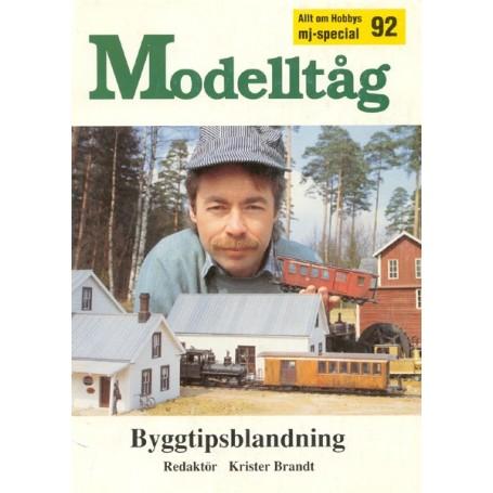 Media BOK20 Modelltåg 1992 - Byggtipsblandning
