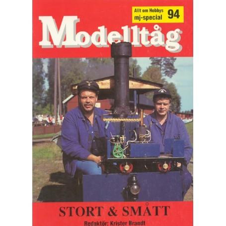 Media BOK22 Modelltåg 1994 - Stort och Smått