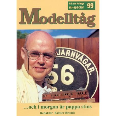 Media BOK27 Modelltåg 1999 - ...och i morgon är pappa stins