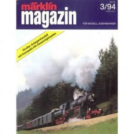Media KAT172 Märklin Magazin 3/94