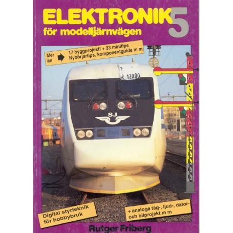 Media BOK33 Elektronik för modelljärnvägen Del 5