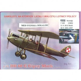 Frog 7203 Flygplan Aster Sk-9 1931-1947 Svenska Dekaler