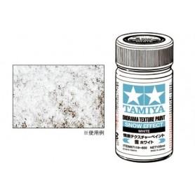 "Tamiya 87119 Diorama Texture Paint, ""Snow Effect"", vit"