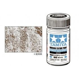 "Tamiya 87120 Diorama Texture Paint, ""Powder Snow Effect"", vit"