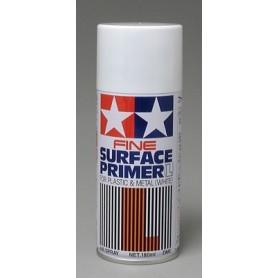 """Tamiya 87044 Sprayfärg """"Surface Primer - Fine"""", vit grundprimer, för metall och plast, innehåller 180 ml"""