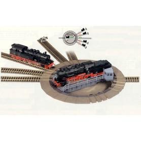 Fleischmann 6154 Vändskiva, elektrisk, för lok upp till 183 mm längd