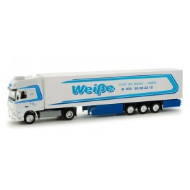 "Herpa 158336 DAF XF 105 SSC refrigerated box trailer ""Spedition Weiße Berlin"""