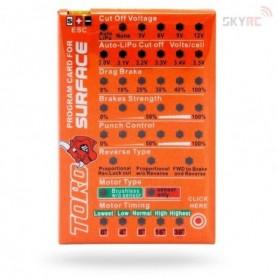 SkyRC SK300032.1 Programmeringskort för SKY RC Brushless motorer och fartreglage