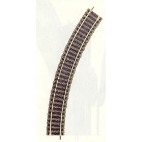 Fleischmann 6120.1 Anslutningsskena Kurva R1 356,5 mm - 36°