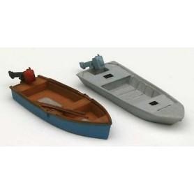 Artitec 38710 Fiskebåtar med utombordsmotorer, 2 st