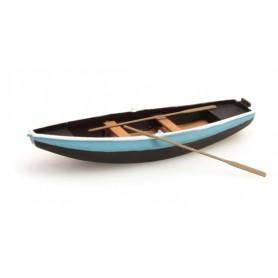 Artitec 38709BL Roddbåt, stål, blå, 1 st, färdigmodell