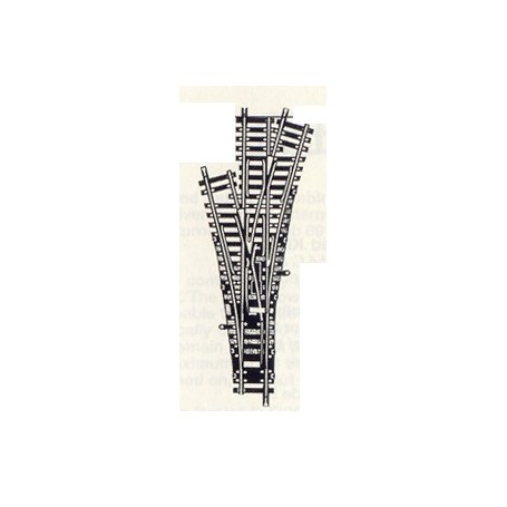 Fleischmann 6057 3-Vägs växel, manuell