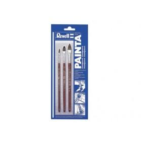 Revell 29610 Pensel-Set, 3 st olika storlekar 2, 6 och 10