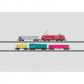 Märklin 26567 Tågset typ SBB med ellok Re 4/4 med 4 godsvagnar typ SBB CFF FFS *SPECIAL FÖR SCHWEIZ*