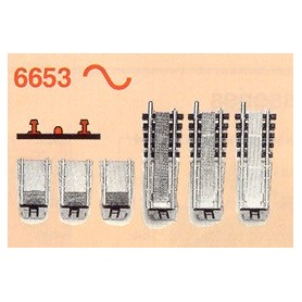 Fleischmann 6653 Vändskiveutbyggnad för Fleischmann vändskiva 6652