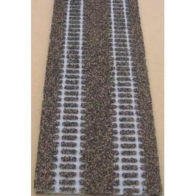 Merkur 200205 Rälsbädd Merkur-Styroplast, längd 1 meter, paralellsträcka 57 mm, passar Märklin