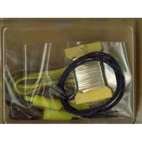 Faller 180635 Lampset, 10 färgade, 2 klara, 35 mA, 12-16V
