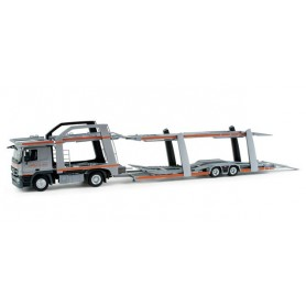 "Herpa 298728 Mercedes-Benz Actros L08 car transporter trailer ""assistance"""