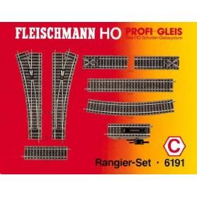 "Fleischmann 6191 Utbyggnadsset ""Shunting Set"""
