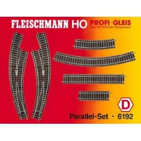 """Fleischmann 6192 Utbyggnadsset """"Paralell Set"""""""
