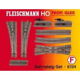 "Fleischmann 6194 Utbyggnadsset ""Platform Set"""