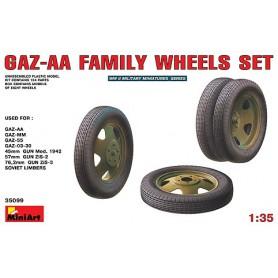 Miniart 35099 Däcksats för GAZ-AA modeller