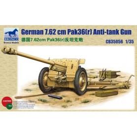 Bronco 35056 German 7.62 cm Pak36(r) Anti-tank Gun