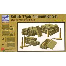 Bronco 3535 Ammunitionsset British 17 pdr