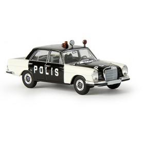 "Brekina 13105 Mercedes Benz 280 ""Polis"", ""Von Starmada"", Sverige"