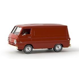 Brekina 34352 Dodge A-100 Van, röd, TD