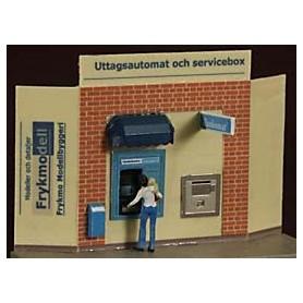 Fryk 102 Uttagsautomat och servicebox, omålad byggsats i nysilver