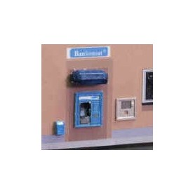 Frykmodell N.a.001 Uttagsautomat och servicebox, omålad byggsats i nysilver