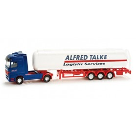"Herpa 065917 Mercedes-Benz Actros LH tank semitrailer ""Talke"""