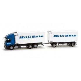 "Herpa 158381 Mercedes-Benz Actros L 08 interchangeable box trailer ""Betz"""