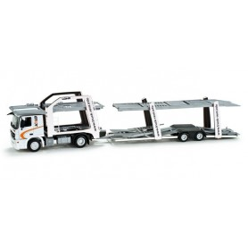 "Herpa 158428 Mercedes-Benz Actros L 08 car transporter vehicle ""Staubtrucks"""