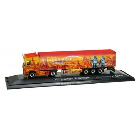 "Herpa 121354 DAF XF 105 SSC walking floor semitrailer ""Morgenstern II"" PC-Box"