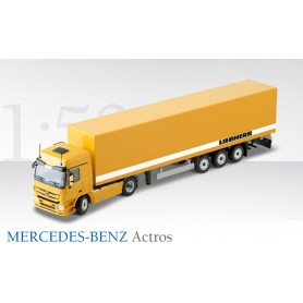 """Conrad 721870 Bil & Trailer Mercedes Benz """"Liebherr"""""""